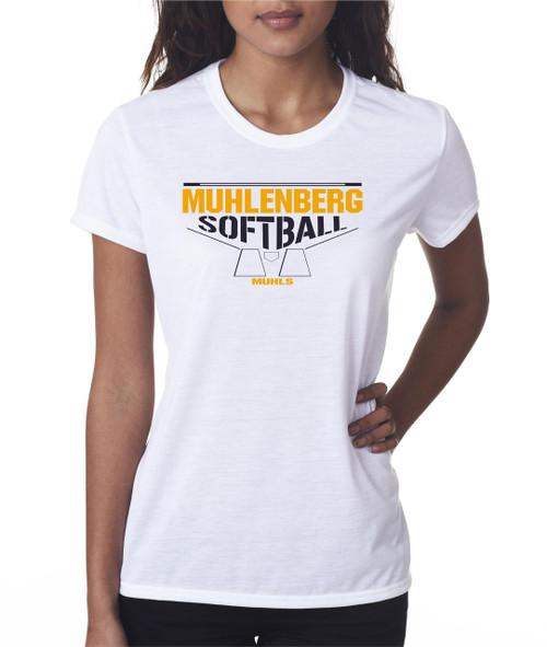 Muhl Softball Ladies Performance T-shirt