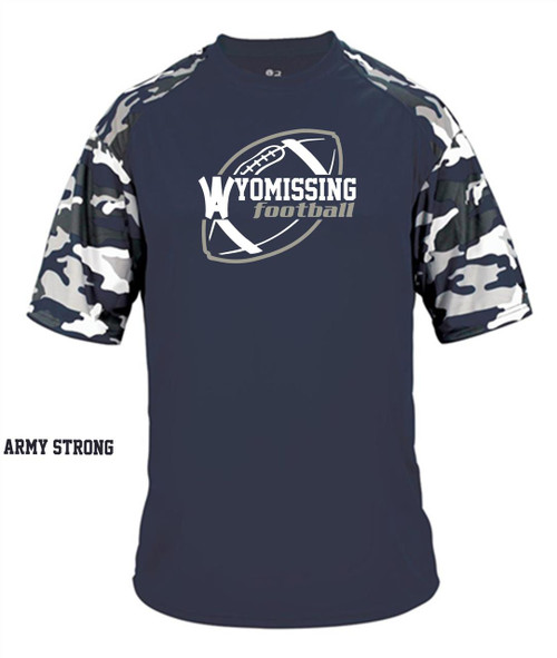 Wyomissing Football Army Strong DF camo