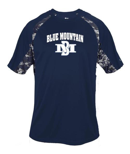 Blue Mountain 2015 Digital Camo Dry Fit T-shirt