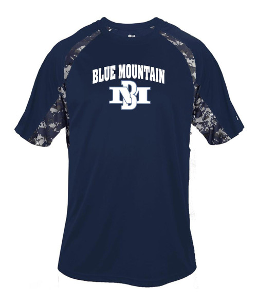 Blue Mountain 2015 Digital Camo Dry Fit T-shirt