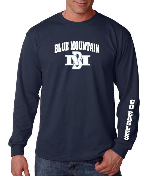 Blue Mountain Basketball 2015 Long Sleeve T-shirt