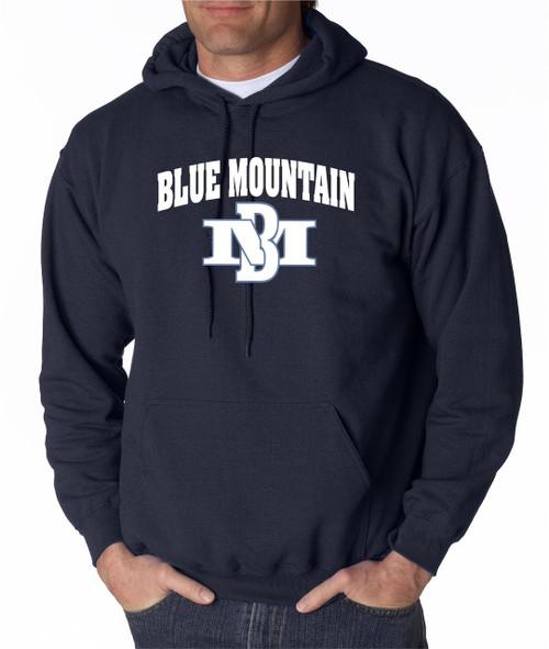 Blue Mountain Basketball Hoody 2015