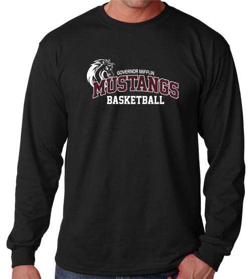 Governor Mifflin Basketball Long Sleeve T-shirt D2