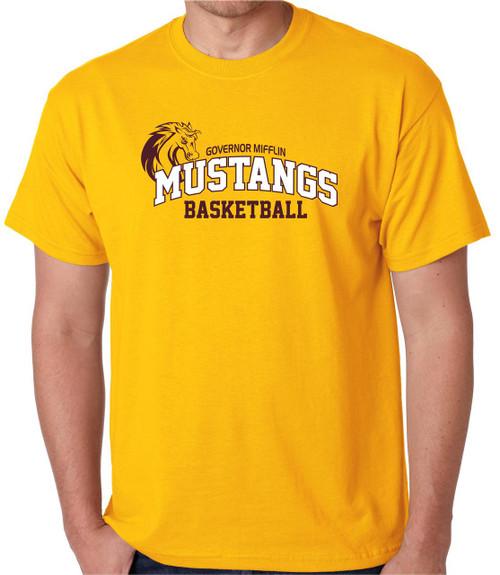 Governor Mifflin Basketball  T-shirt D2