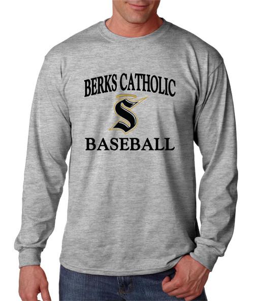 Berks Catholic Baseball Long Sleeve T-shirt D2