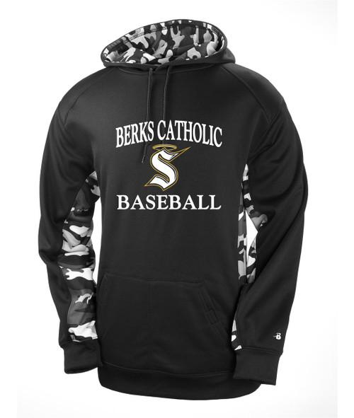Berks Catholic Baseball Color Block Camo D2