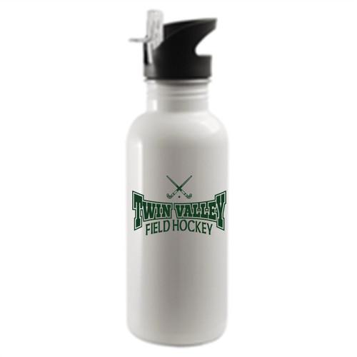 Twin Valley HS Field Hockey Water Bottle D1