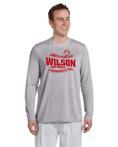 Wilson Softball Long Sleeve Performance T-shirt