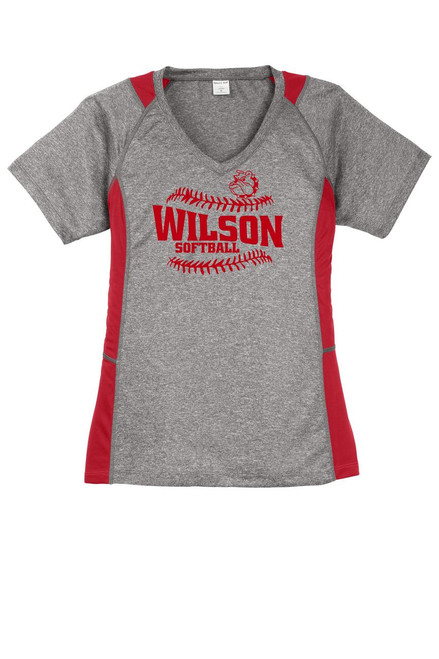 Wilson Softball Color Block Dry Fit