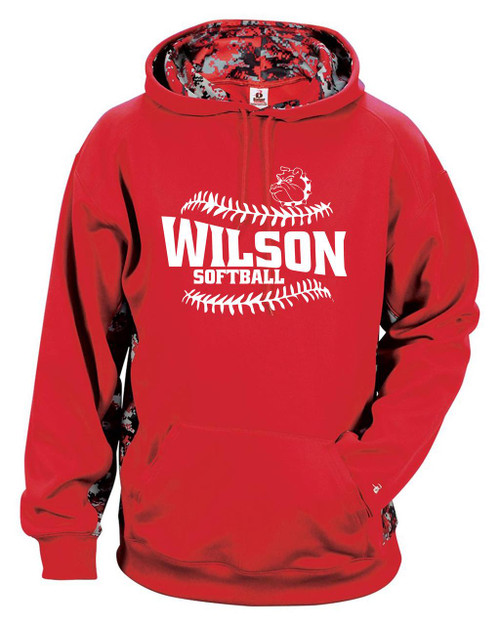 Wilson Softball Digital Camo Hoody