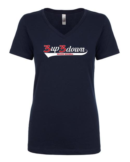 3up3down Ladies T-shirt