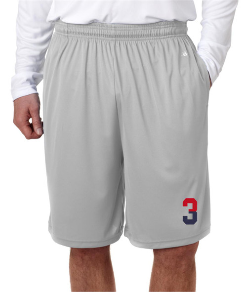 3up3down Pocketed Dry Fit shorts