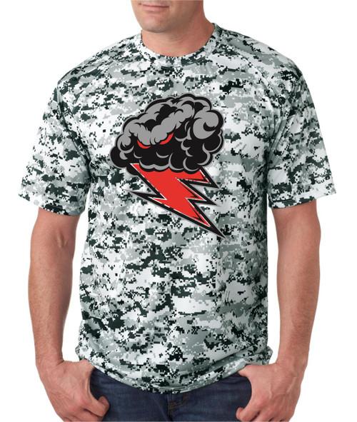 Thunderstorm Digital Camo Dry Fit T-shirt