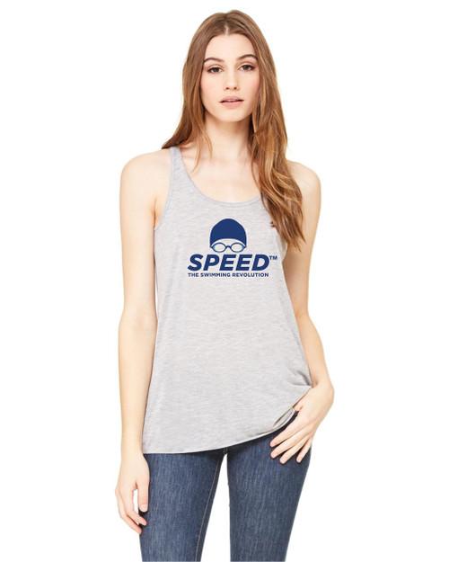 Speed Ladies Flowy Racerback Tank