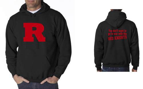 R-You Don't want to go to war with the Red Knights Hoody