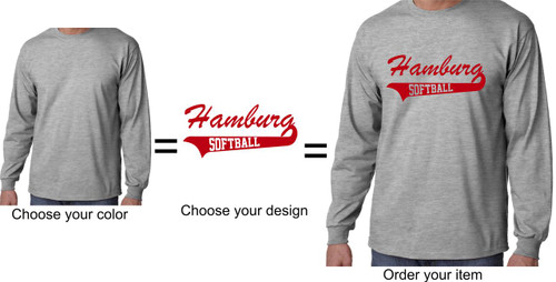 Hamburg Softball Long Sleeve T-shirt