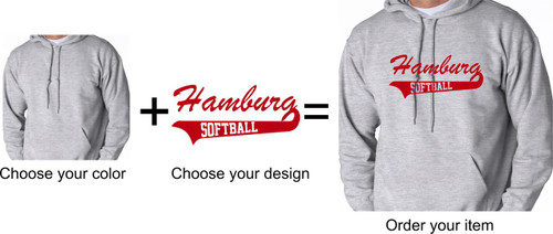 Hamburg Softball Hoody