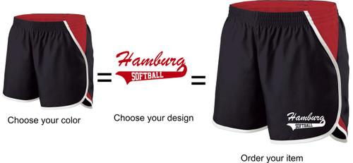 Hamburg softball Ladies Shorts