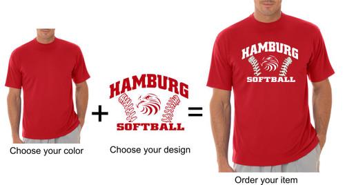 Hamburg Softball Dry Fit T-shirt