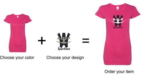Wyomissing CHEER Glitter T-shirt