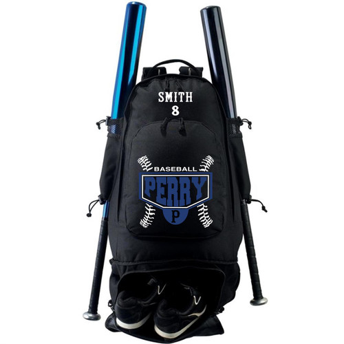 Perry Baseball Expandable Bat Backpack Bag