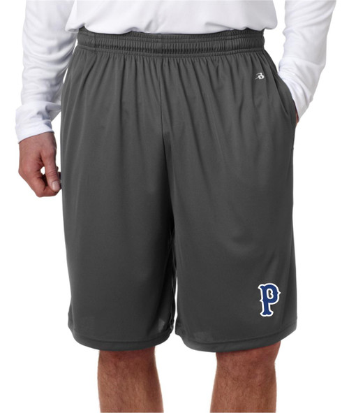 Perry Baseball Pocketed Dry Fit shorts