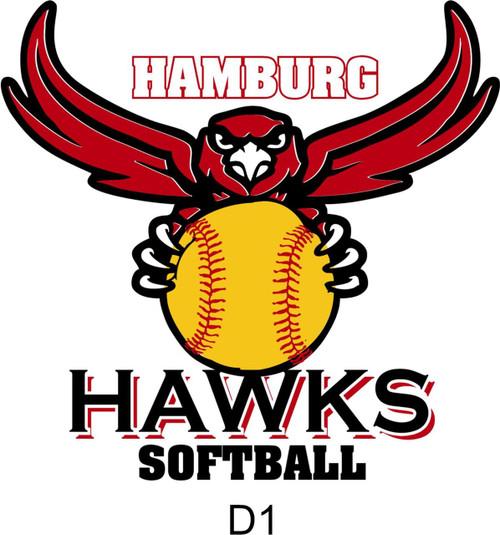 2019 New-Hamburg Softball Tonal Dry Fit Hoody
