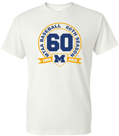 2019 MTAA 60th anniversary shirt