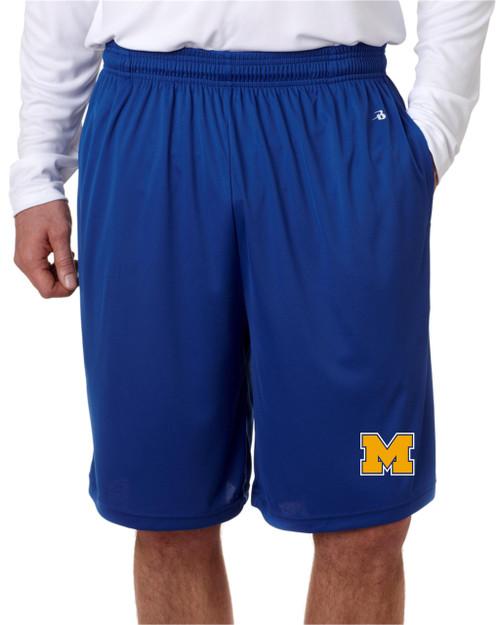 Muhlenberg Baseball Pocketed Dry Fit shorts