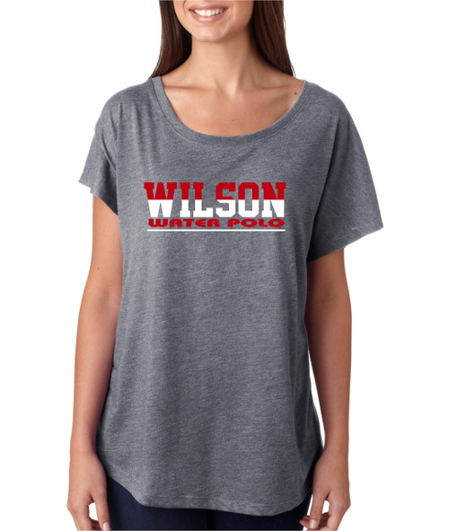 Wilson Water Polo Ladies Flowy Dolman shirt