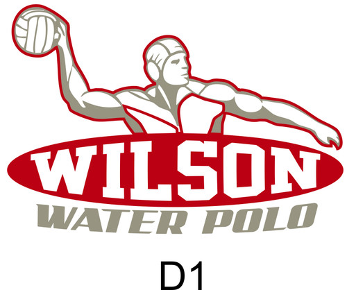 Wilson Water Polo Triblend 3/4 sleeve T-shirt