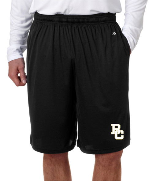 Berks Catholic Pocketed Dry Fit shorts