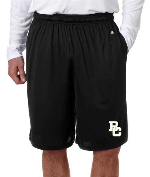Berks Catholic Pocketed Dry Fit shorts