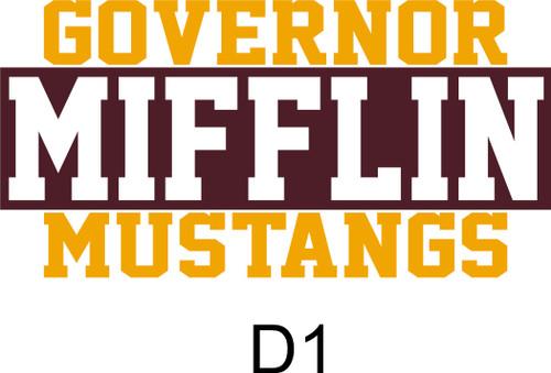 Governor Mifflin Triblend T-shirt