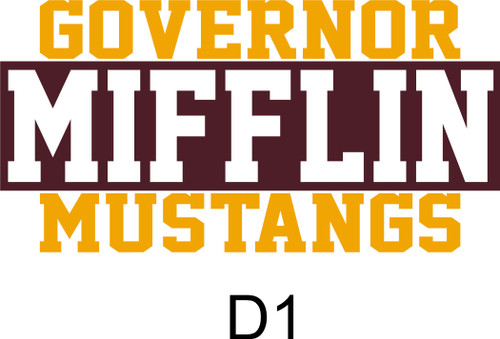 Governor Mifflin Long Sleeve Dry Fit