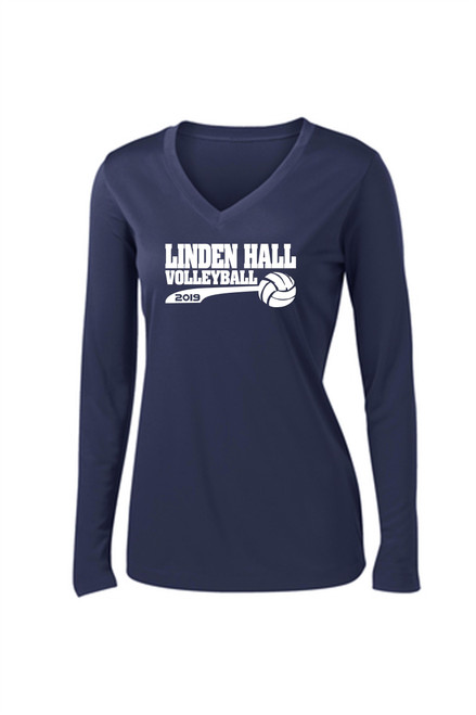 Linden Hall Long Sleeve Dry Fit