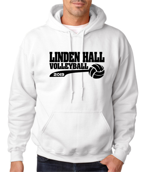 Linden Hall Volleyball Hoody