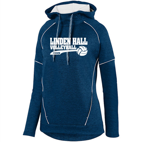 Linden Hall Volleyball Tonal Dry Fit Hoody