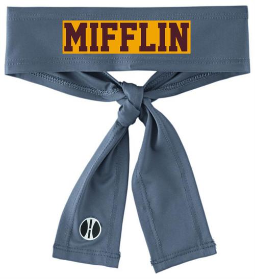 Governor Mifflin Back Tie Headband
