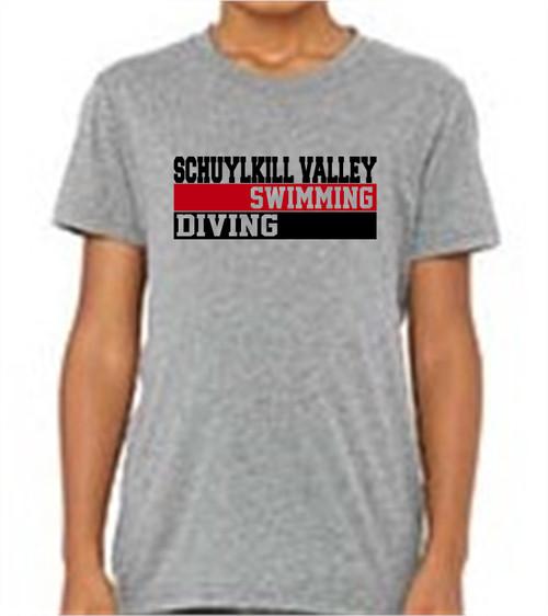 SV Swim Triblend T-shirt