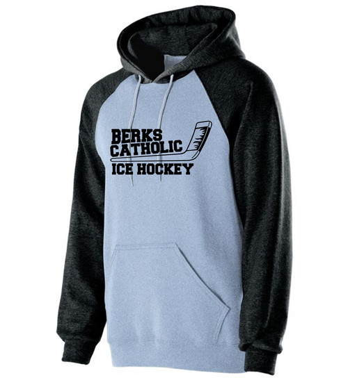 Berks Catholic Ice Hockey Banner Hoody