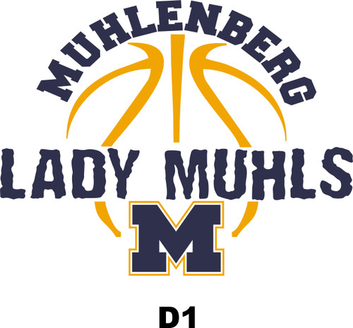 Lady Muhls Basketball T-shirt