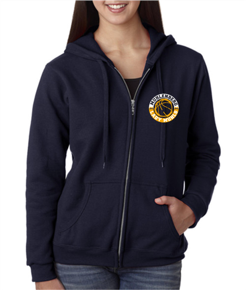 Lady Muhls Basketball Zip Hoody