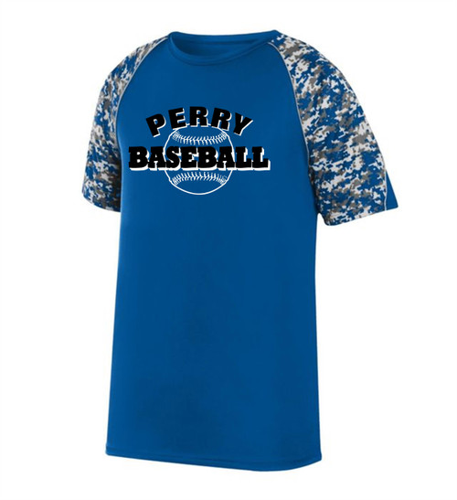 2020 New-Perry Baseball Digital Camo Dry Fit