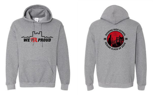 RHS Hoody circle back design
