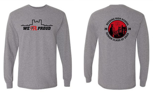 RHS Long Sleeve T-shirt circle design back
