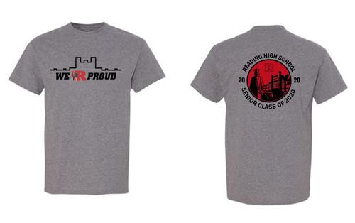 RHS T-shirt circle design back