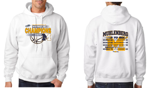 2020-Muhl Basketball District Championship Hoody