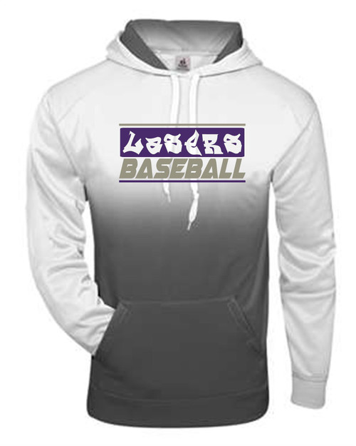 Lasers Baseball Ombre Dry Fit Hoody