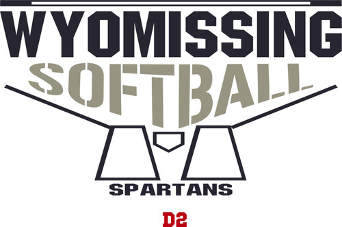 2020 New-Wyomissing Softball Ombre T-shirt Dry Fit Hoody